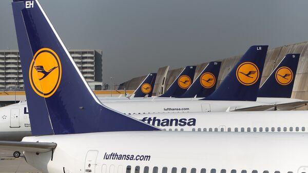 Авиони немачке авио-компаније Луфтханза  - Sputnik Србија