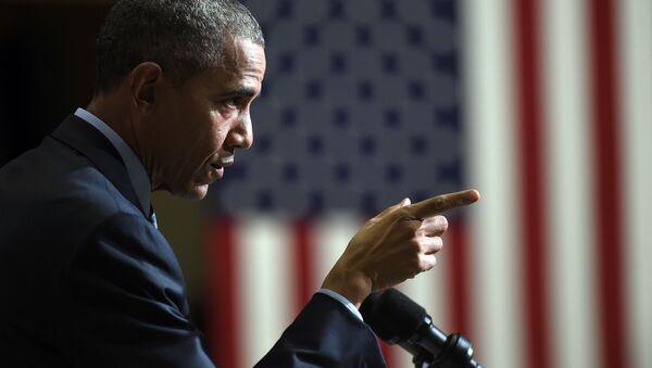 Predsednik Amerike Barak Obama - Sputnik Srbija