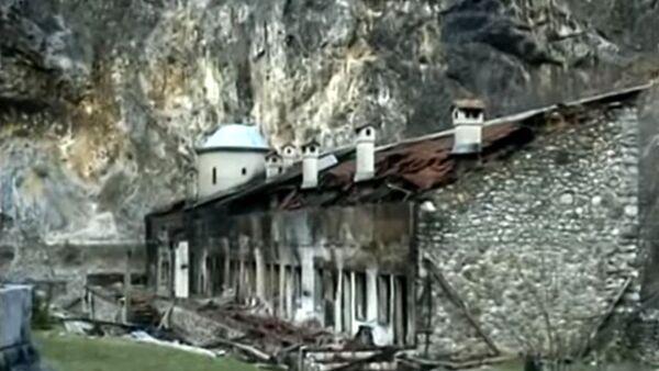 Paljenje manastira na KiM - Sputnik Srbija