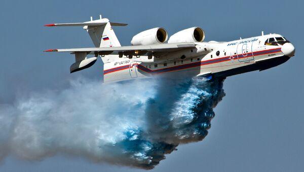 Ruska amfibijska letelica  Be-200 - Sputnik Srbija