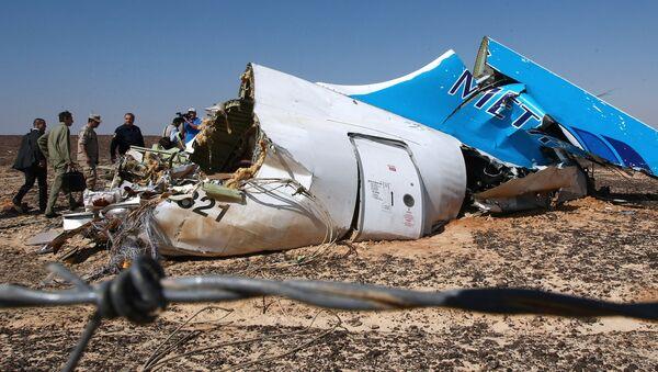 Ostaci ruskog aviona erbasa A321 - Sputnik Srbija