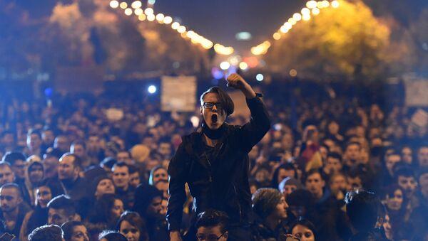 Protesti u Bukureštu - Sputnik Srbija