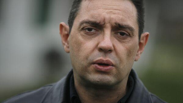 Mинистар за рад, запошљавање, борачка и социјална питања Александар Вулин - Sputnik Србија