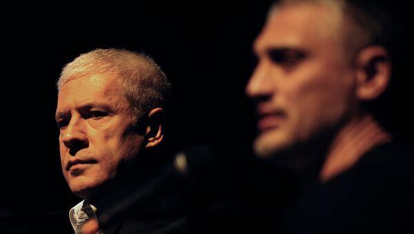 Boris Tadić i Čedomir Jovanović - Sputnik Srbija