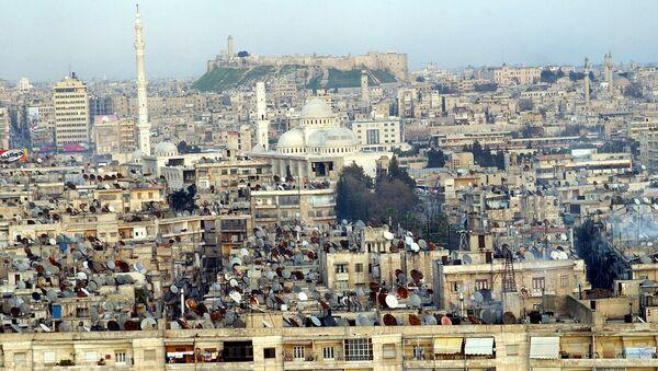 Поглед на тврђаву у Алепу - Sputnik Србија