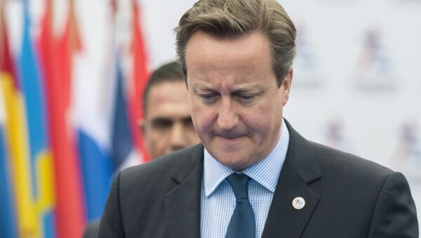 Britanski premijer Dejvid Kameron - Sputnik Srbija