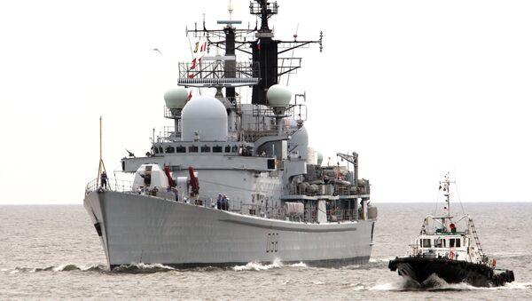 Raketrni razarač velikobritanske flote - Sputnik Srbija