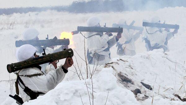 Air Landing troops exercise in Ryazan Region - Sputnik Srbija