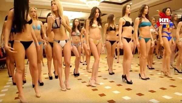 Izbor za Mis Rusije, proba - Sputnik Srbija