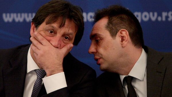 Bratislav Gašić i Aleksandar Vulin - Sputnik Srbija