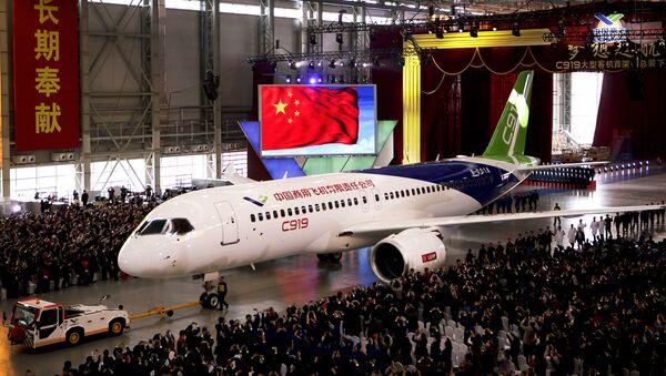 Kineski komercijalni avion C-919 - Sputnik Srbija
