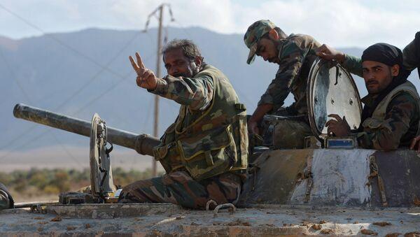 Vojnici Sirijske armije - Sputnik Srbija
