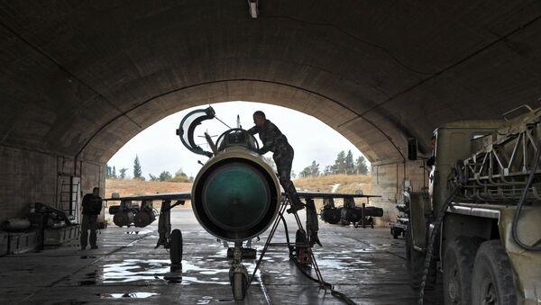 Vojna avio-baza Hama u Siriji - Sputnik Srbija