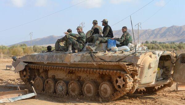 Sirija vojska - Sputnik Srbija