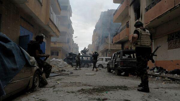 Либијска војска после борбе са терористичком огранизацијом ИД - Sputnik Србија