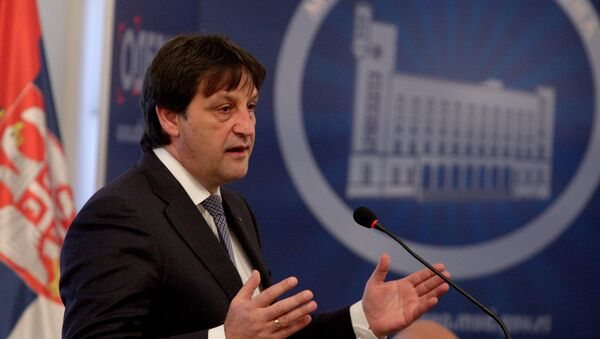 Ministar odbrane Bratislav Gašić - Sputnik Srbija