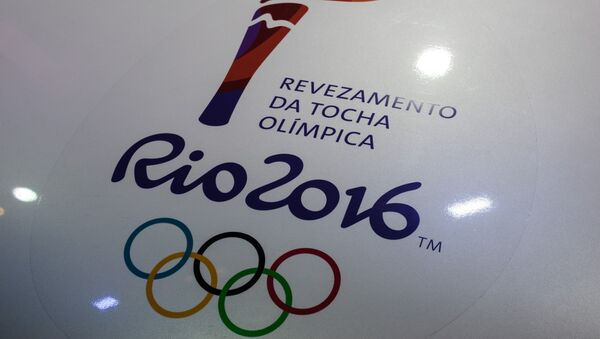 Олимпијада у Рију 2016-лого - Sputnik Србија