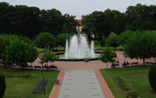 Fontana u Banji Kovinjači - Sputnik Srbija
