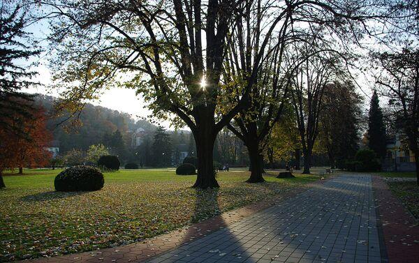 Park u Banji Koviljači - Sputnik Srbija
