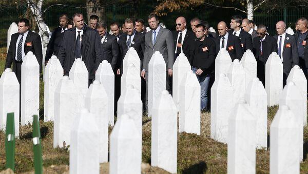 Vučić Aleksandar, Srebrenica - Sputnik Srbija