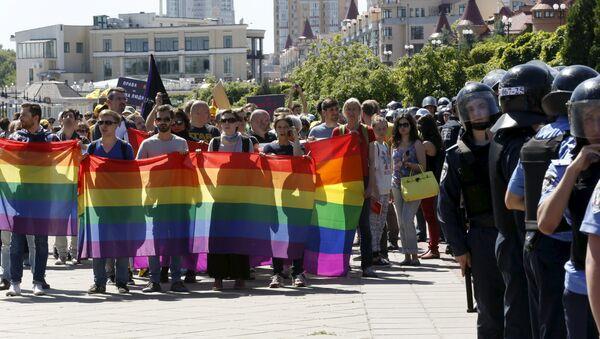 Геј парада у Кијеву - Sputnik Србија