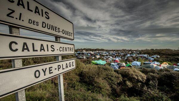 Kamp Džungla za izbeglice u Francuskoj - Sputnik Srbija