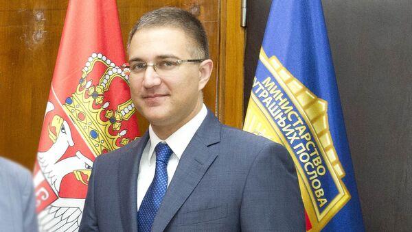 Ministar unutrašnjih poslova Nebojša Stefanović - Sputnik Srbija