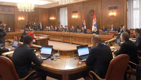 Министри на седнице Владе Србије - Sputnik Србија