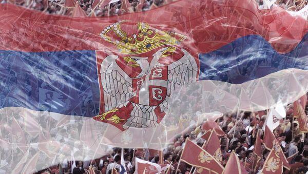 Црногорска и српска застава - Sputnik Србија