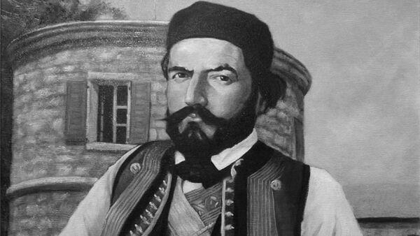 Pater II Petrović Njegoš - naslikao umetnik Darko Topolski - Sputnik Srbija