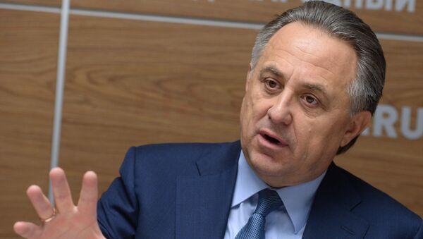 Ministar sporta Rusije Vitalij Mutko - Sputnik Srbija