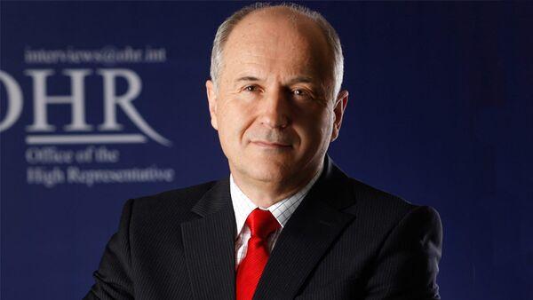 Валентин Инцко, високи представник за Босну и Херцеговину. - Sputnik Србија