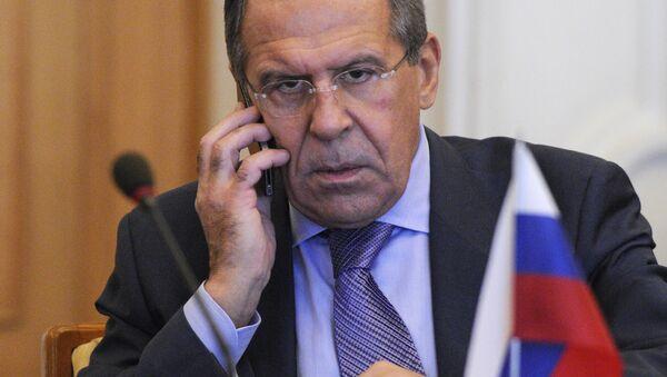 Ruski ministar inostranih poslova Sergej Lavrov - Sputnik Srbija