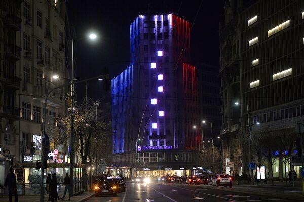 Plava, bela, crvena: Svetske prestonice u bojama francuske zastave - Sputnik Srbija