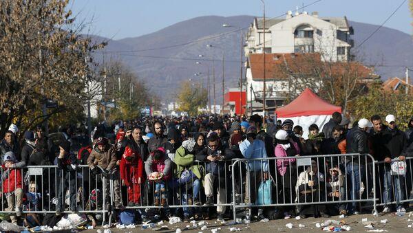 Izbeglički centar u Preševu - Sputnik Srbija