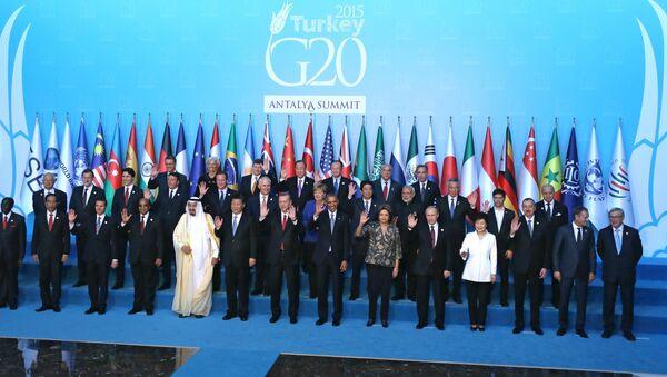 Samit G20 u Antaliji - Sputnik Srbija