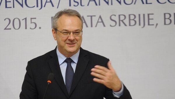 Министар привреде Жељко Сертић - Sputnik Србија