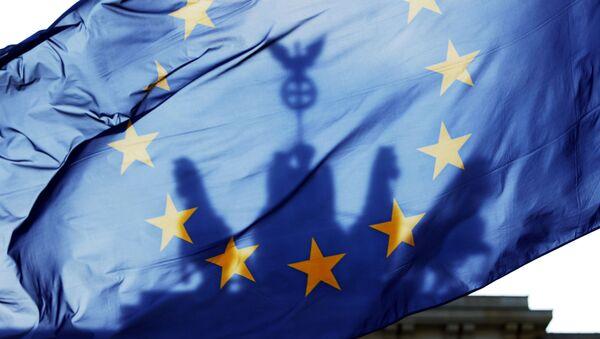Zastava EU se vijori u Berlinu, Nemačka - Sputnik Srbija