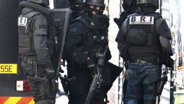 Припадници француских специјалних полицијских снага - Sputnik Србија