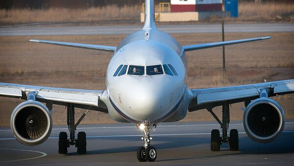 Avion Erbas 320 - Sputnik Srbija
