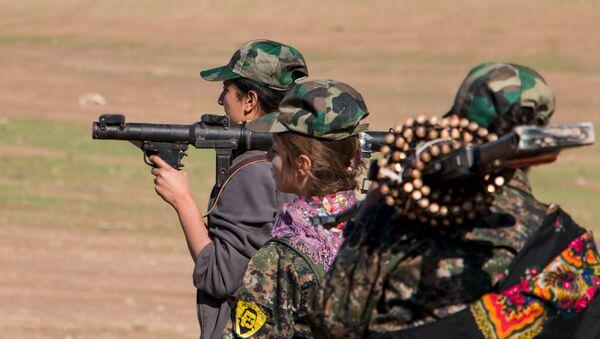Курдске жене борци - Sputnik Србија