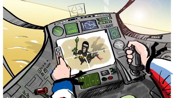 Ruskim akcijama u Siriji se aktivno priključila i Francuska - Sputnik Srbija