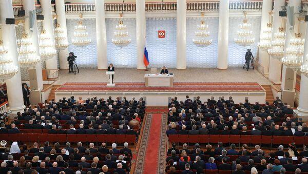 Zajednička sednica Saveta Federacije, Državne dume i civilnog društva Rusije - Sputnik Srbija