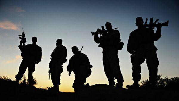 Marinci obučavaju avganistanske vojnike - Sputnik Srbija