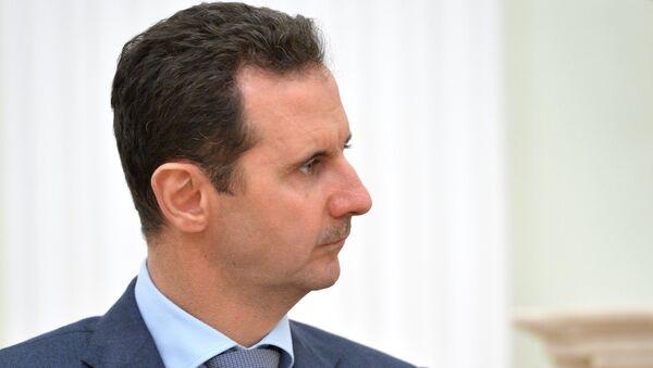 Predsednik Sirije Bašar el Asad - Sputnik Srbija