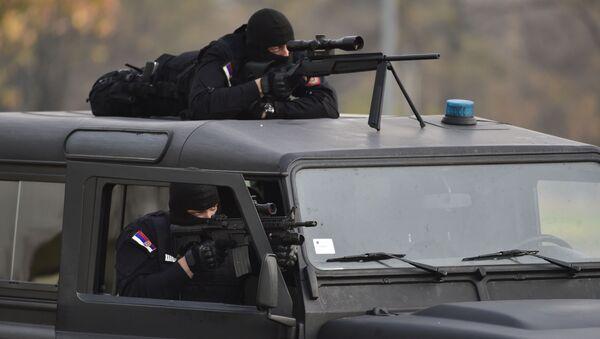 Štit 2015, antiteroristička vežba, Srbija - Sputnik Srbija