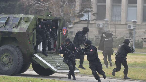 U vežbi učestvuje više stotina pripadnika Bataljona za protivteroristička dejstva - Sputnik Srbija