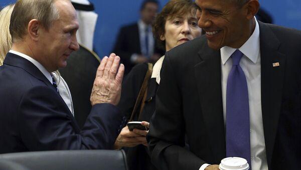 Vladimir Putin, Barak Obama - Sputnik Srbija