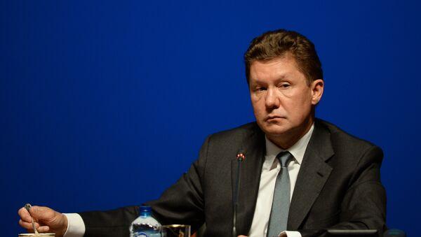 Direktor kompanije Gasprom Aleksej Miler - Sputnik Srbija