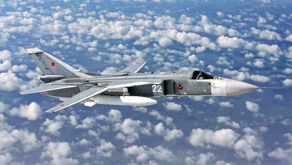 Сухој СУ-24 руски војни авион - Sputnik Србија